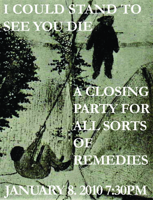 Remedies-closing-party